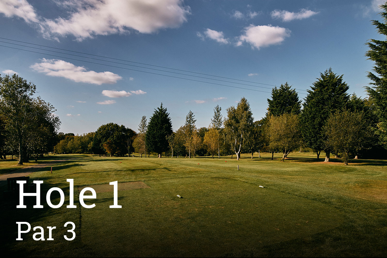 Horam Park Golf Club Hole 1