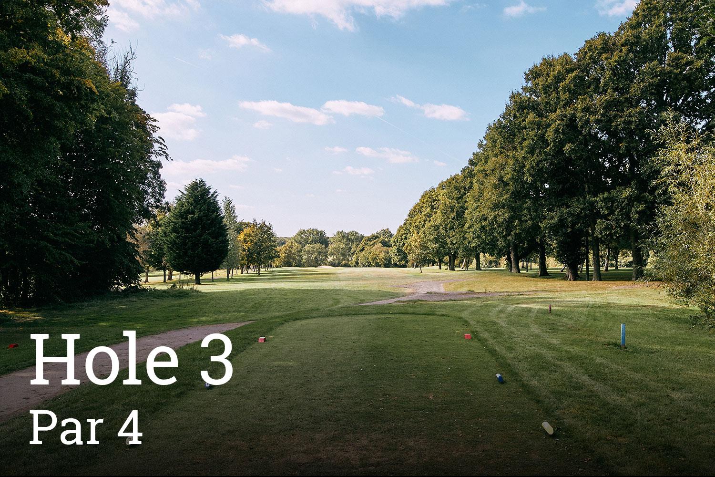 Horam Park Golf Club Hole 3