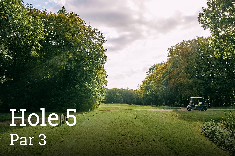 Horam Park Golf Club Hole 5