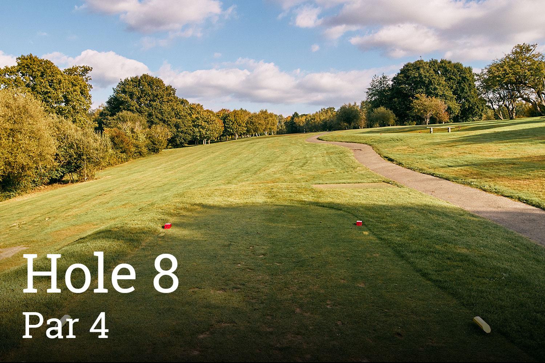 Horam Park Golf Club Hole 8