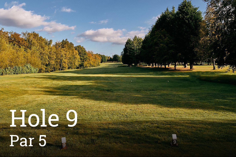 Horam Park Golf Club Hole 9